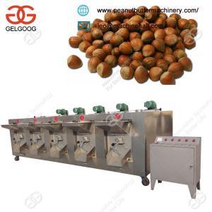 Quality High Capacity Low Price Hazelnut Nut Roaster Roasting Machine for Sale for sale