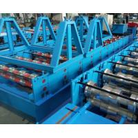 Quality Glazed Tile Cold Bending Machine Full Automatic Delta PLC Control And Hydraulic Cutting for sale