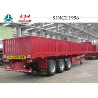 Quality 3 Axles 40 FT Flatbed Trailer 30 Tons Payloads With Airbag Suspension for sale