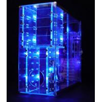 Quality clear Transparent ACRYLIC CASE for packing jewelry for sale