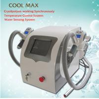 Quality Weight Loss Fat Removal Cryolipolysis Freeze Fat Machine With Dual - 10 Deg Cryo Handles for sale