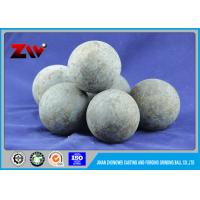 Quality HRC 60-68 Grinding Balls For Minings , 60Mn B2 Forged grinding Media balls for sale