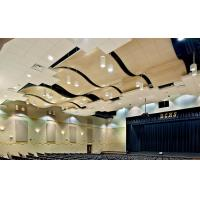 Quality Beautiful  Curved  False Ceiling Aluminium Panels FOR Semi Exposed Soffit Buildings for sale
