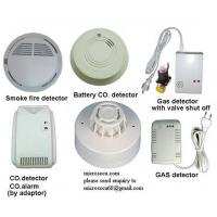 Buy cheap Wireless Smoke Fire Detector and gas leakage detector from wholesalers