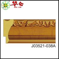 Quality J03521 series Buy Cheap Gold Polystyrene Plastic Mouldings For Picture Frames for sale