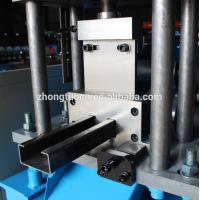 Quality PLC Control Door Frame Roll Forming Machine / CZ Purlin Machine For Building for sale