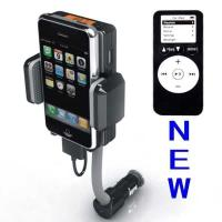 Quality Dc 12v, Vehicle Power Black Fm Transmitter + Car Charger For Iphone 3gs 3g Ipod Touch for sale