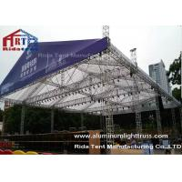 Buy Cheap Durable Stage DJ Light Truss Silver Color 5200mm X 760mm Size Hanging Lighting