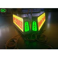 Quality P5 Full Color Car LED Sign Display video taxi roof led sign for car for sale