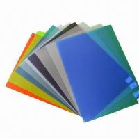 Quality Binding Covers, Made of PVC/PP/PET, Elegant Design and Durable for sale