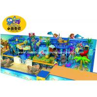 Quality Customized Children Indoor Playground Equipment Soft Play In Ocean Style for sale