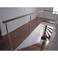 Quality Interior Balustrade Stainless Steel Wire Cable Railing Customized Design for sale