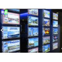 Quality Picture Frame LEDCrystalLightBox Display For Real Estate Advertising for sale