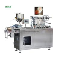China Liquid Filling Blister Pack Sealing Machine 10-35 Times/Min Weight 820 Kg on sale
