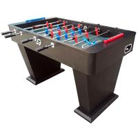 5FT Soccer Table Wood Football Table With Telescopic Play Rods