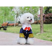 Quality Fashion Navy suit for dog dog clothes with cheap price for sale