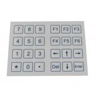 Quality 24 Keys Dust Proof Industrial Membrane Keypad With Dot Matrix for sale