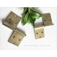 Quality 2 Pieces 3 Holes Stainless Lift Off Hinges Emovable Wide Application  Strong Inner Box for sale