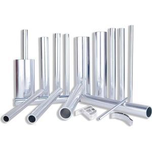 China 300mm Diameter 6063 Aluminum Alloy Tube Anodized / Oxidation Surface Treatment on sale