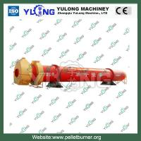 Quality Rotary Drum Dryer , 5.5kw Wood Sawdust Drying Machine for sale