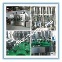 Quality Maple Syrup Water Bottle Filling Machine Full Automatic CIP Function for sale