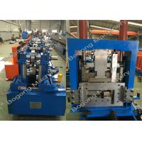 China Interchangeable C & Z Purlin Forming Machine on sale