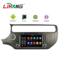 Quality PX3 4core Android Car DVD Player Navigation DVD Player For KIA RIO With Mirror Link for sale