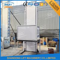 Quality Hydraulic Vertical Wheelchair Platform Lift / Aluminum Alloy Patient Lifting Hoists for sale