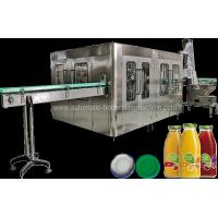 Quality Ce Juice Bottle Filling Machine , Rotary Bottle Drink Filler Packaging Machine for sale
