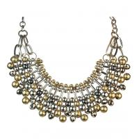 Quality Engagement hematite Plating ritzy mixed metal multi colour plated necklaces for sale