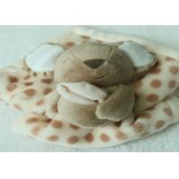 Quality Customized Cute Infant Security Blanket With Koala Bear Design for sale