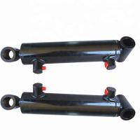 Quality 3000PSI Snow Plow Cylinder / Single Acting Hydraulic Ram 12mm - 500mm Shaft for sale