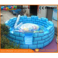 China PVC Gladiator Joust Game Inflatable Sports Arena Interactive Game For Kids / Adults on sale