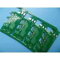 China Immersion Silver PCB On 1.0mm Epoxy Glass ITEQ FR-4 2 Layer Circuit Board for USB Charger on sale