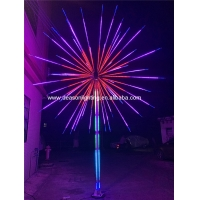 Quality led firework light outdoor tree lights for sale