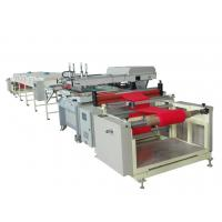 Quality 40Kw Double Color Non Woven Bag Making Machine Ensure Precision Printing for sale