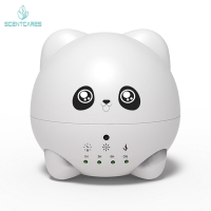 Quality Cute Panda 300ml Mini Ultrasonic Aroma Diffuser for sale