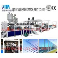 Quality with UV coating polycarbonate pc solid/embossed acrylic sheet processing machinery for sale