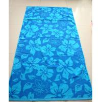 Quality 100% Cotton Adults printing beach towel for sale