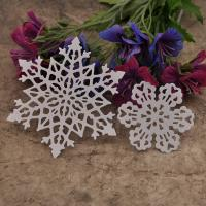 Scrapbook DIY album snowflakes card production tools Cutting Die cut stencils DM-807