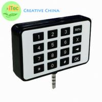 Quality Pinpad Smart Card Mobile Card Reader ISO7816 Card Reader  Emv Card Reader Audio Jack for sale