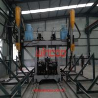 Quality Automatic LHA Gantry Type H-Beam  Welding Machine for Steel Structure for sale