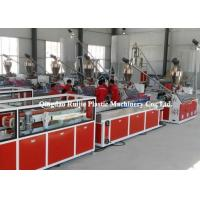 China Trunking Cable PVC Window Production Line Plastic Automatic Temperature Control on sale