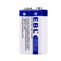 Quality 9 Voltage 1200mah Rechargeable Lithium Ion Battery Eco Friendly Anti Leakage for sale