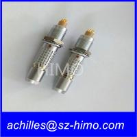 saving your time and energy elbow 90 degree PCB pin lemo 5 pin push pull connector