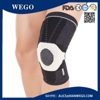 Quality Knee Sleeve Compression Brace - Elastic Support & Side for Runner's Knee, Jumper's Knee, Arthritis Pain, ACL for sale
