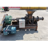 China Roll Screw Type Briquetting Coconut Shell Charcoal Making Machine on sale