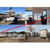 Quality Modular Flat Pack Container Office Rooms For Temporary Use Prefab Transportable Cabins With Durable Frame for sale