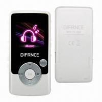 Quality 1.8-inch MP4 Players with T-Flash Card Slot, Built-in Rechargeable Battery and Low Power Consumption for sale