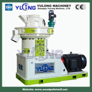 Quality YULONG XGJ850 2-3TH rice husk EFB biomass wood sawdust pellet making machine price for sale